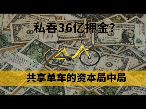 """【中国商业史02】从估值200亿到欠债36亿,是谁亲手杀死了ofo?复盘""""金钱围剿""""下共享单车的资本局中局——冲浪普拉斯出品"""