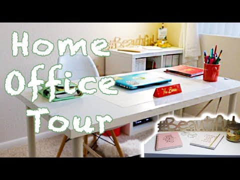 Home Office Tour | Design on a Budget