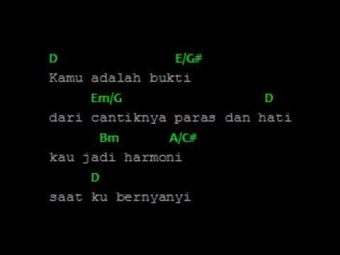 chord lirik Virgoun -Bukti