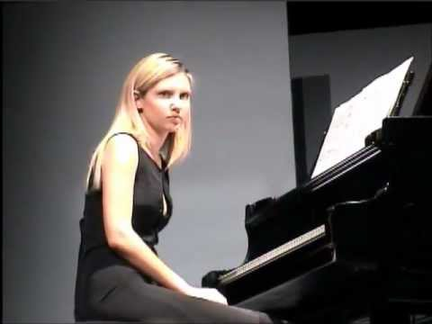 Rehearsal with STOCKHAUSEN (in HD) - Vanessa Benelli Mosell, piano