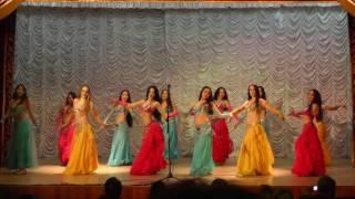 Восток. Образцовый ансамбль танца