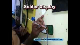How To Solder / Replace Display / Screen of Mobile Phone | Mobile Phone Repairing