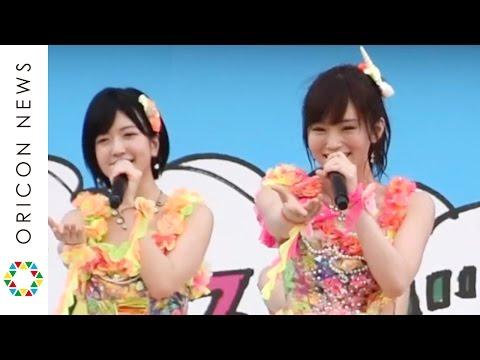 NMB48、沖縄で「365日の紙飛行機」初披露