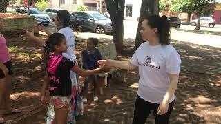 Projeto Linhas - Itaguajé.   Mediadora voluntária: Irse Araújo