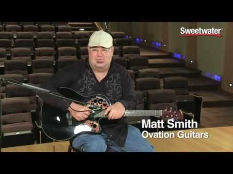 Ovation Celebrity Elite CE44-5 Acoustic-electric Guitar Demo - Sweetwater Sound