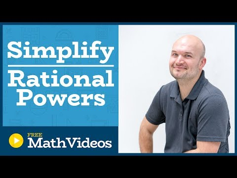Master Simplifying radical expressions using rational powers and the product rule