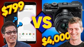 Is a good camera important?? - Pro vs Amateur CHALLENGE