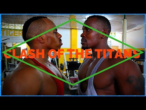 CLASH OF THE TITANS | CHEST, DELTS AND TRICEPS CRUSHED