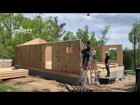 House Kit Build Project Timelapse | Mighty Small Homes