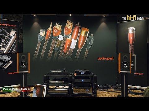 Audioquest NEW Speaker Cables A/B Demo Garth Powell Linn Kudos Audio @ hi-fi Show Live 2018