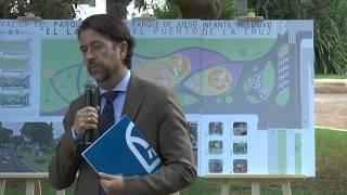 Presentación del parque infantil inclusivo 'El Laurel'