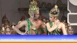 KJRI Toronto: Pertunjukan Sendratari Ramayana (19 September 2015)