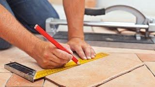 видео Как резать напольную плитку в домашних условиях?