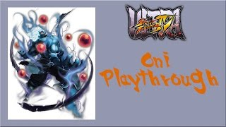 Ultra Street Fighter IV - Oni Arcade Mode Playthrough