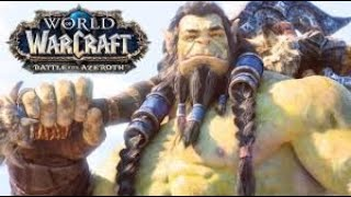 WOW (World of Warcraft) | Battle for Azeroth - All Cinematics & Cutscenes in Chronological Order
