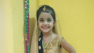 Janmashtami Simple little radha make up look