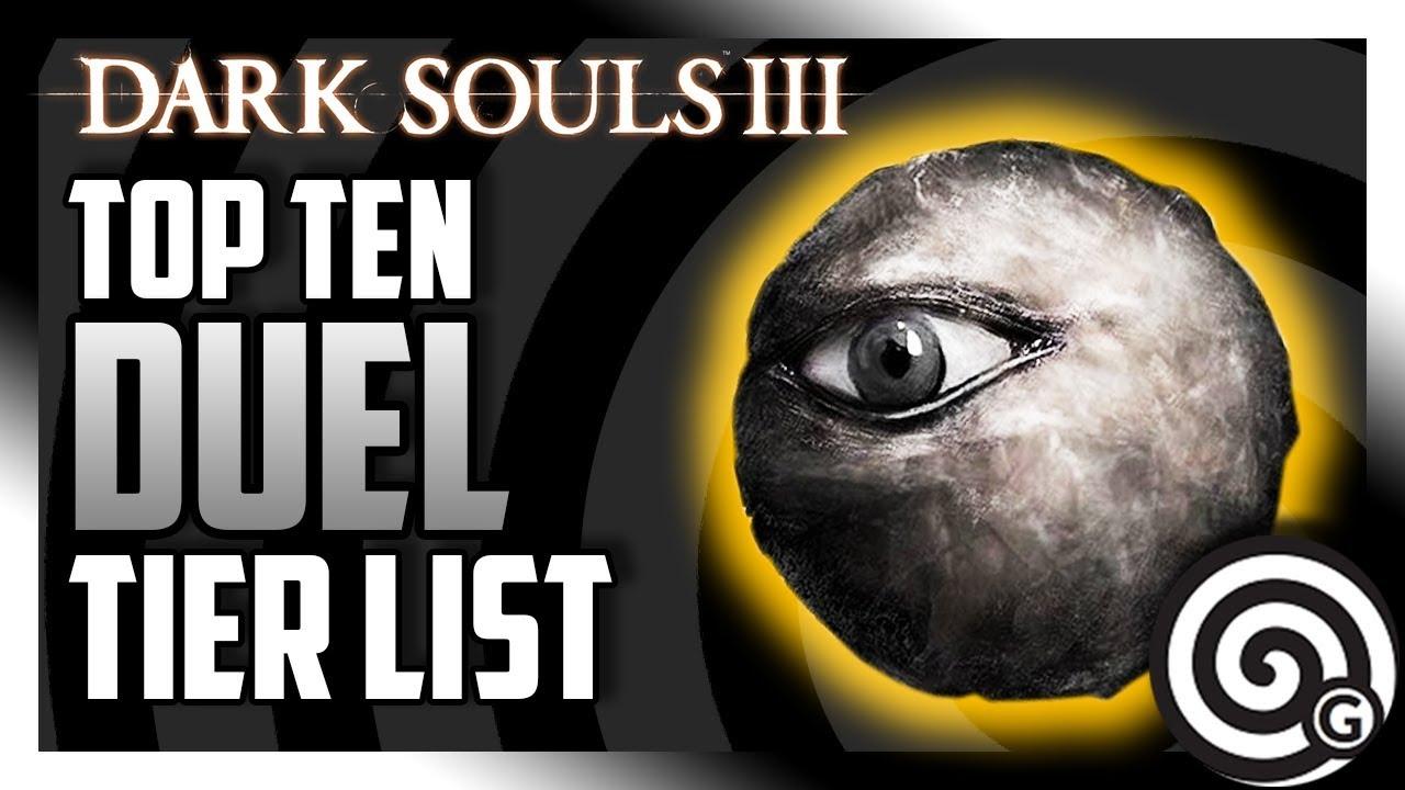 Dark Souls 3 - Top Ten Duel Weapons [2018] - Tier List