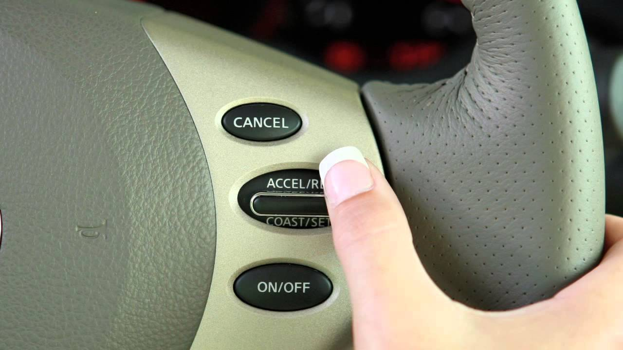 2012 Nissan Altima Cruise Control Youtube