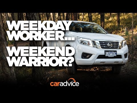 Looks the part, but... 2017 Nissan Navara SL review | CarAdvice - Dauer: 4 Minuten, 35 Sekunden