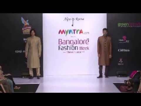 Designer Alpa & Reena at Myntra.com Bangalore Fashion Week 11th Edition