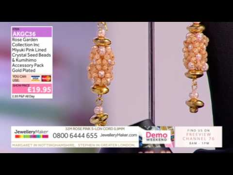 JewelleryMaker LIVE 08/01/17 6pm-11pm