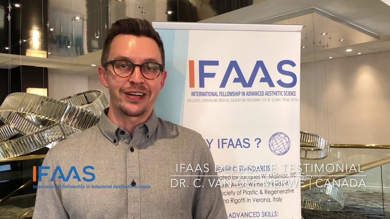 IFAAS Delegate Testimonial - Dr  C  Van Der Merwe   Canada