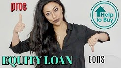 PROS AND CONS OF THE EQUITY LOAN HELP TO BUY LOAN GOVERNMENT SCHEME | IS HELP TO BUY A SCAM?