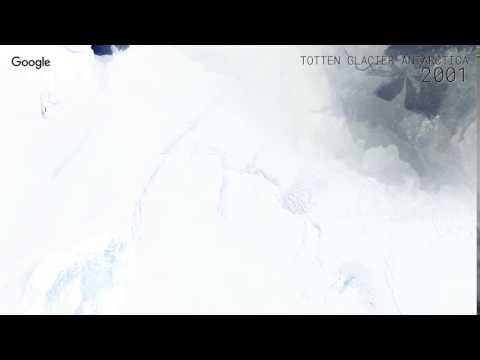 Google Timelapse: Totten Glacier, Antarctica