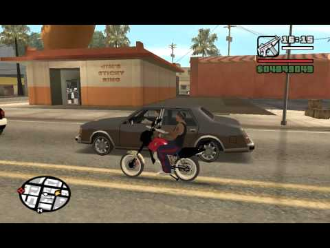 FAN 150 cortando giro no gta Travel Video