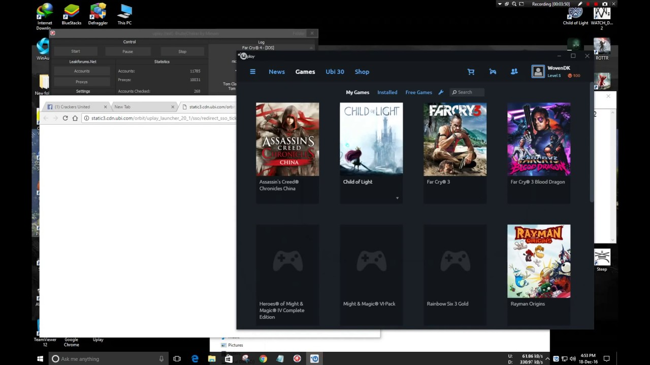 how to get free uplay accounts