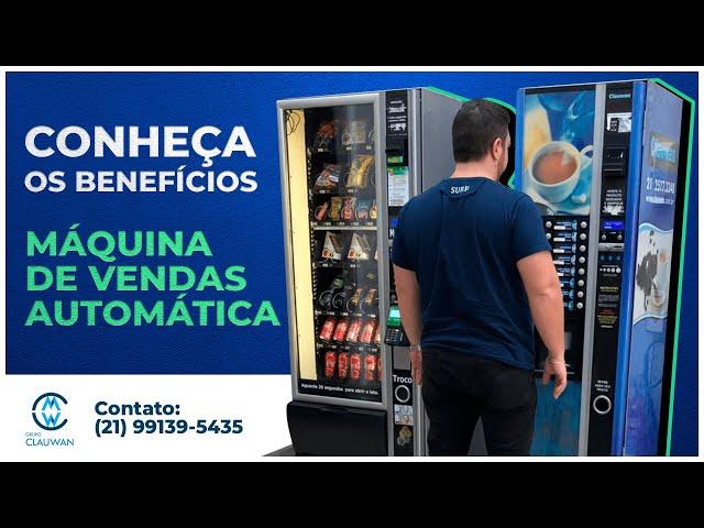 Máquina de Venda Automática - Conheça os Benefícios para seu Negócio