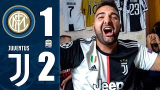PRIMI!!! INTER 1-2 JUVENTUS w/ELITES - LIVE REACTION