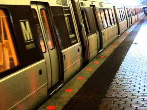 Washington DC Metro train