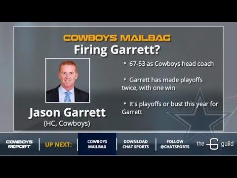 Cowboys Mailbag: Jason Garrett's Future And Signing Tre Boston Or Mychal Kendricks