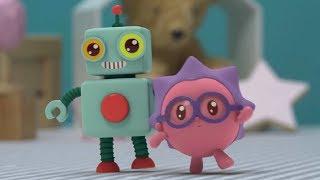 Малышарики - Раз, два, три  - серия 160 - Обучающие мультфильмы для малышей - танцы