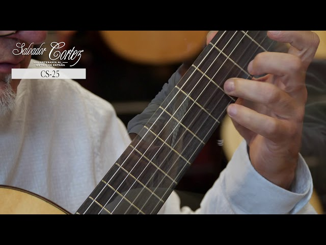 Salvador Cortez CS-25   Chitarra classica   Guitar test by Leonardo Gallucci