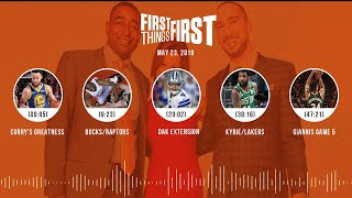 First Things First audio podcast(5.23.19)Cris Carter, Nick Wright, Jenna Wolfe | FIRST THINGS FIRST