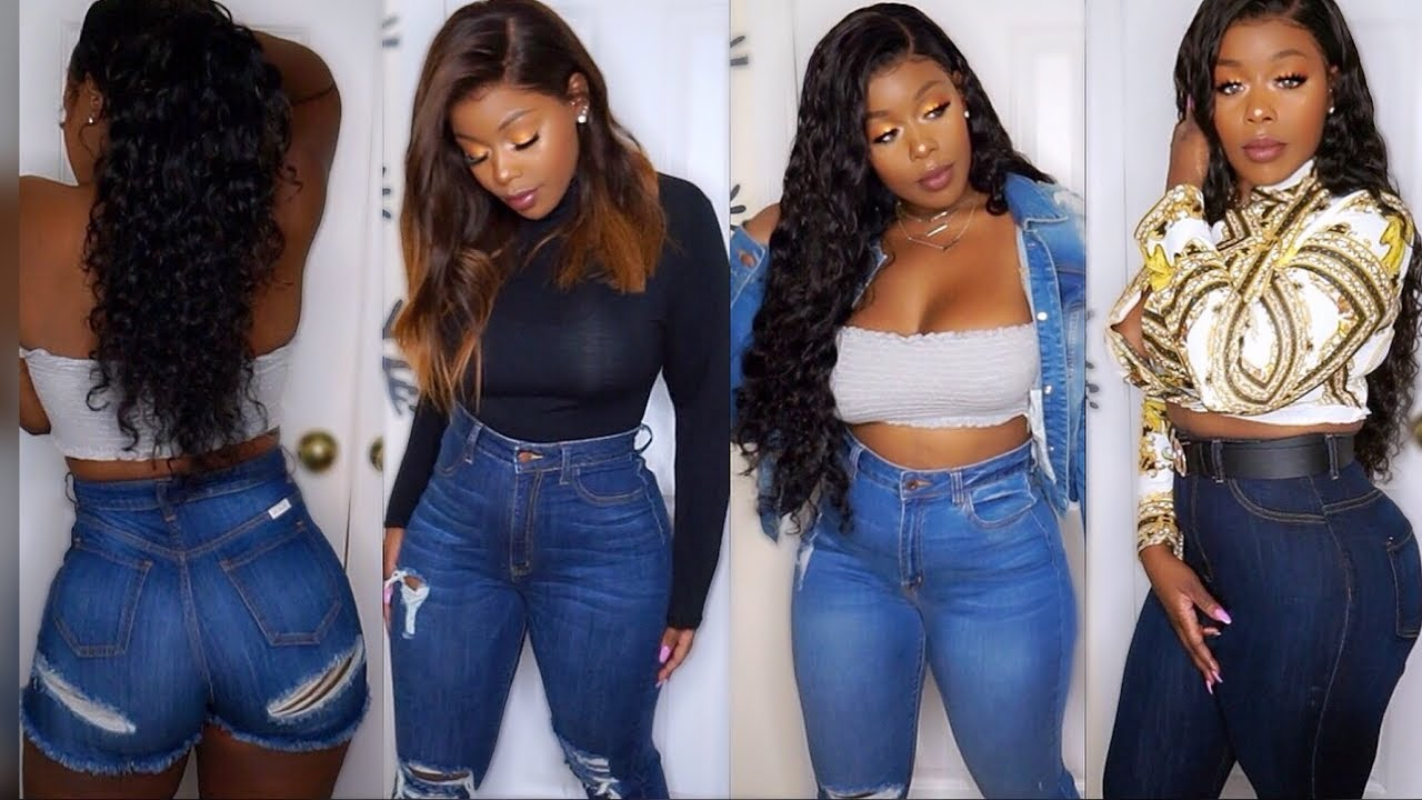 Sizes 0 3xl Big Booty Friendly Curvy Thick Girl Try On Haul Ft Monotiques