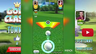 Golf Clash, Wind tutorial 1.0 - How to use the rings?