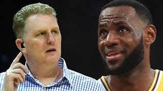 LeBron James Responds To Michael Rapaport After He Tried To COME At LBJ's Best Friend Mav Carter
