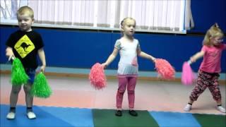 Открытый урок Детский фитнес 29 04 2016
