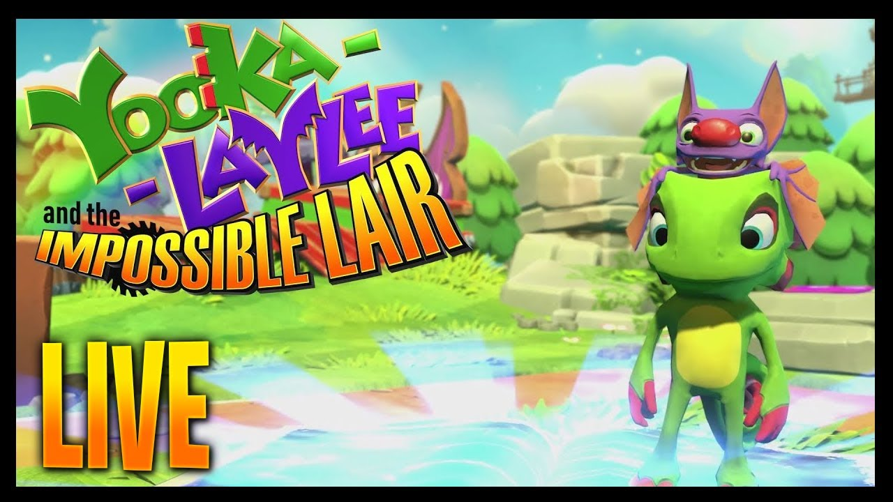 Yooka-Laylee and the Impossible Lair Episode #5 - Let's play this LIVE! #Gaming #Gameplay