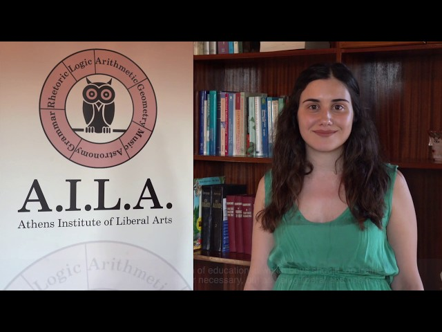Liberal Arts Live in Greece - Zoi-Maria Tsinopoulou CEO OF A.I.L.A.