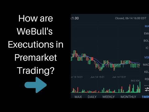 Live WeBull Premarket Trade! Testing And Analyzing The Fills