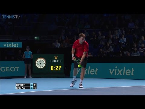Incredible, breathtaking doubles point at the 2016 ATP World Tour Finals!