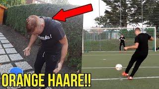 Meine besten fussball challenges vs proownez wakez mefyou + orange haare bestrafung!!!
