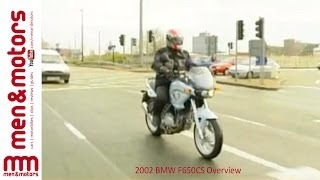 2002 BMW F650CS Overview
