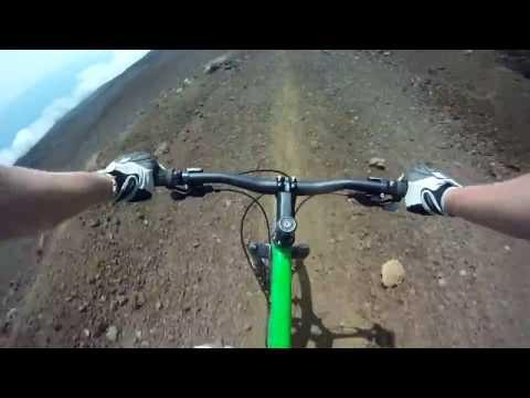 Full Haleakala MTB Volcano Trail, Maui | GoPro HD