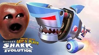 Midget Apple Plays - Hungry Shark Evolution: ROBO SHARK