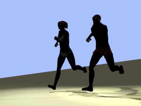 Homo erectus RUNNING